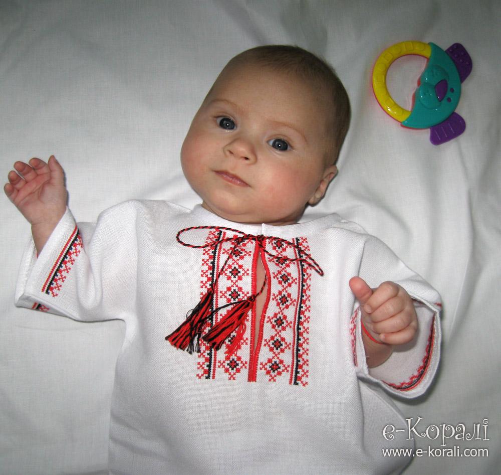 Вишиванка для немовляти