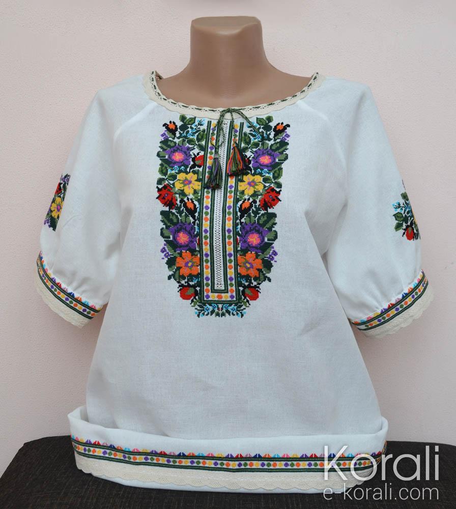 1021503edc3057 Вишиванка жіноча | Korali - Ексклюзивні вишиванки ручної роботи